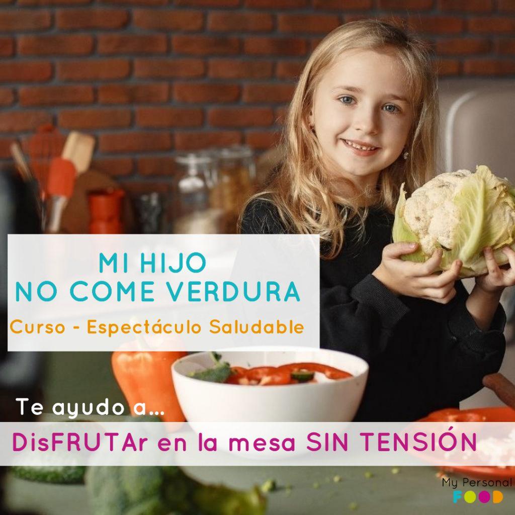 Mi hijo no come verdura