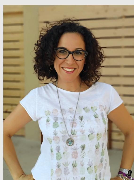 Nutricionista infantil familiar Rebeca Pastor