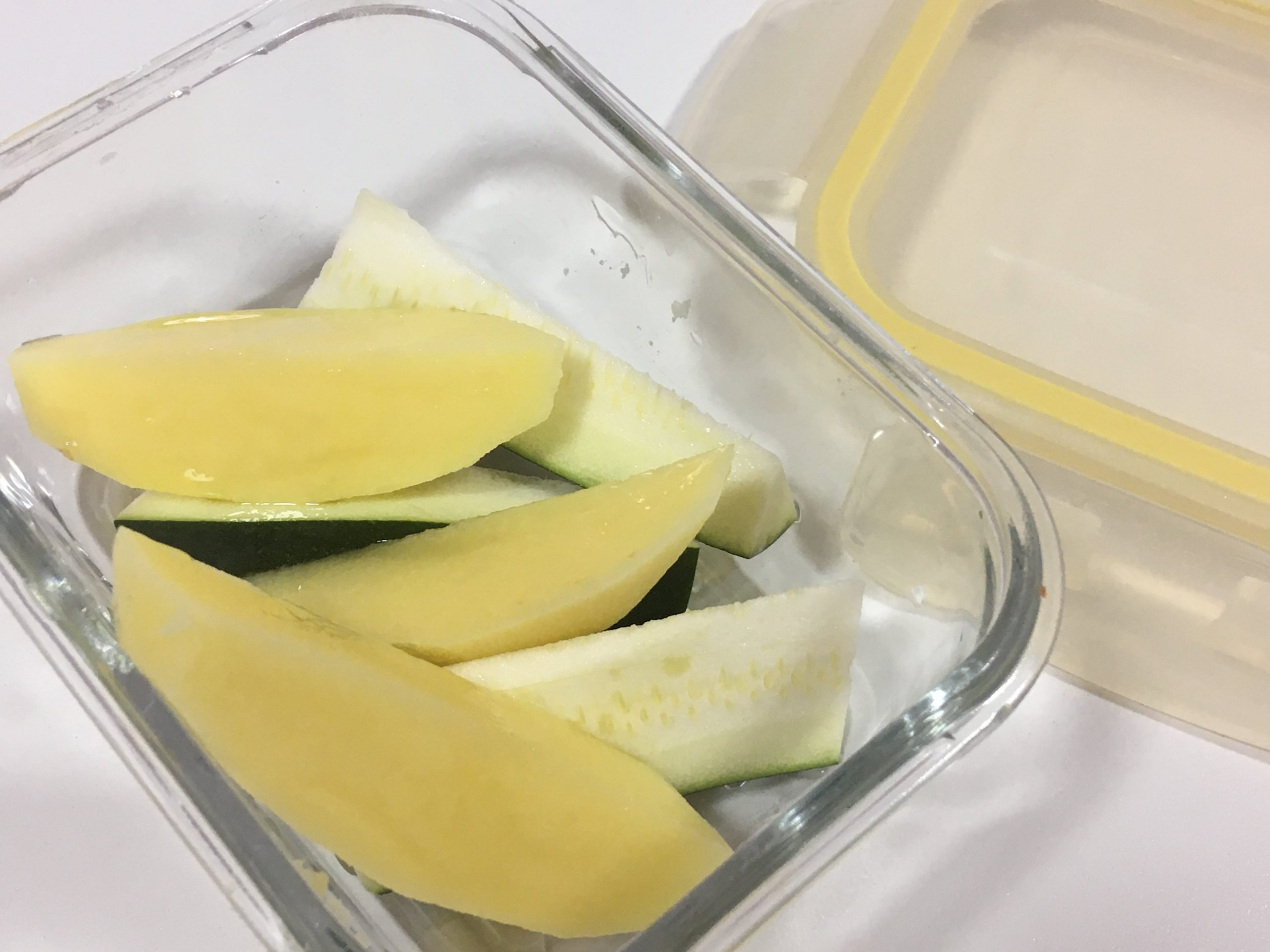 verduras rápidas para niños